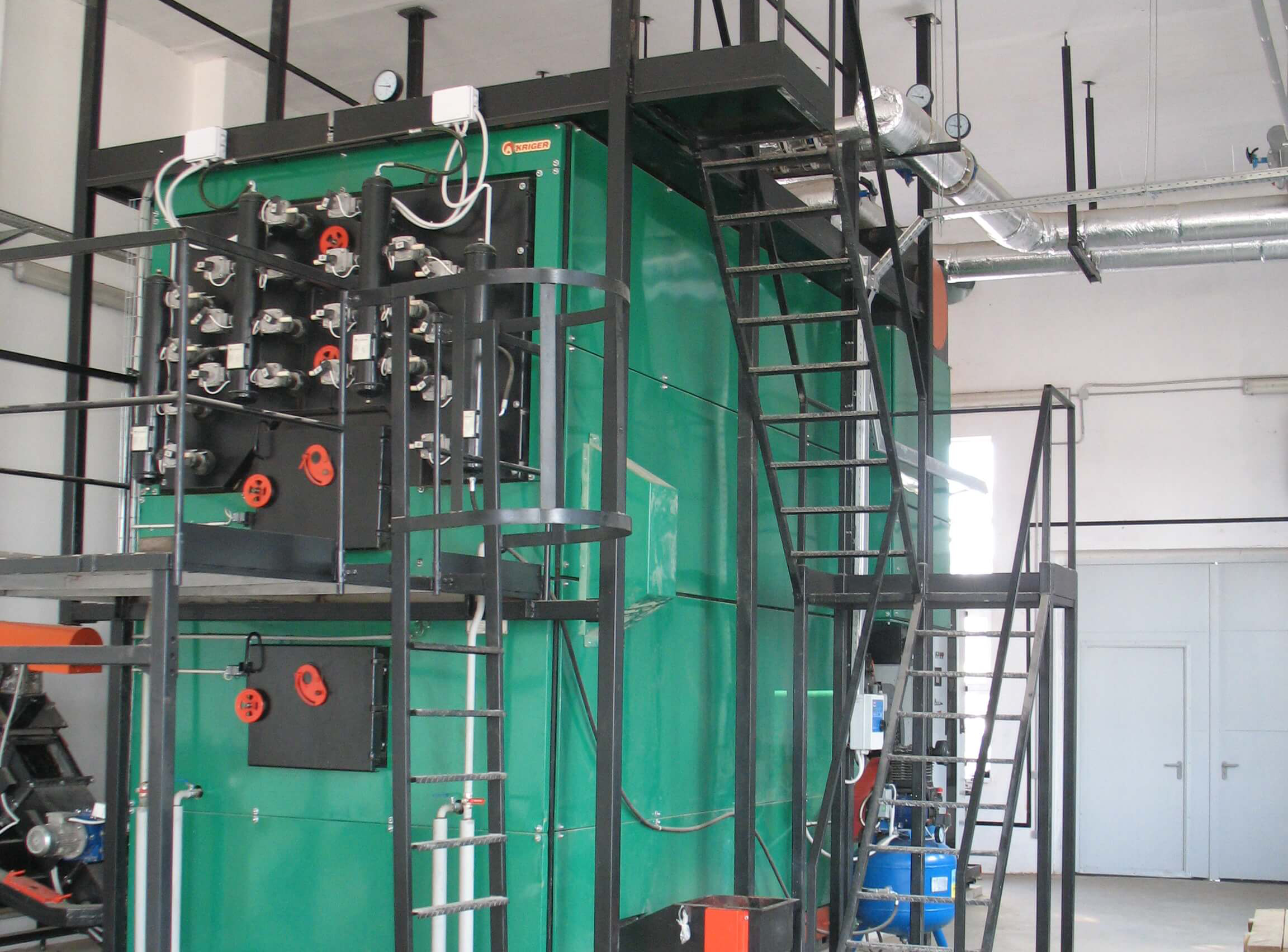 Boilerhouse with a capacity of 4.0 MW in Vinnytsia region