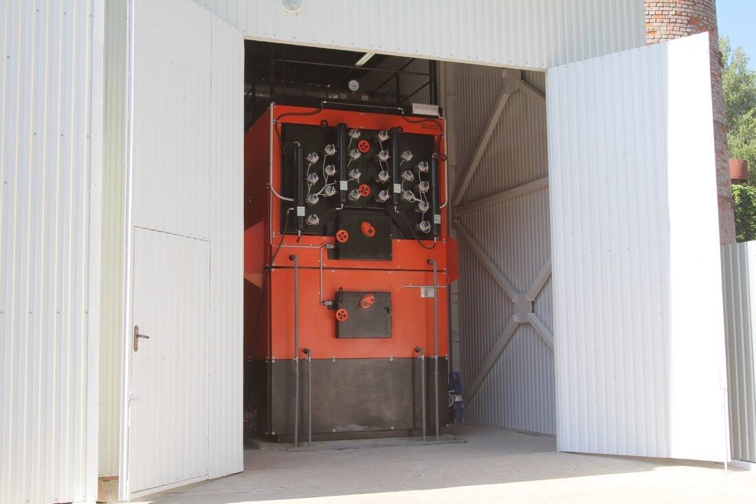 Котельня потужністю 2,5 МВт в Житомирській області